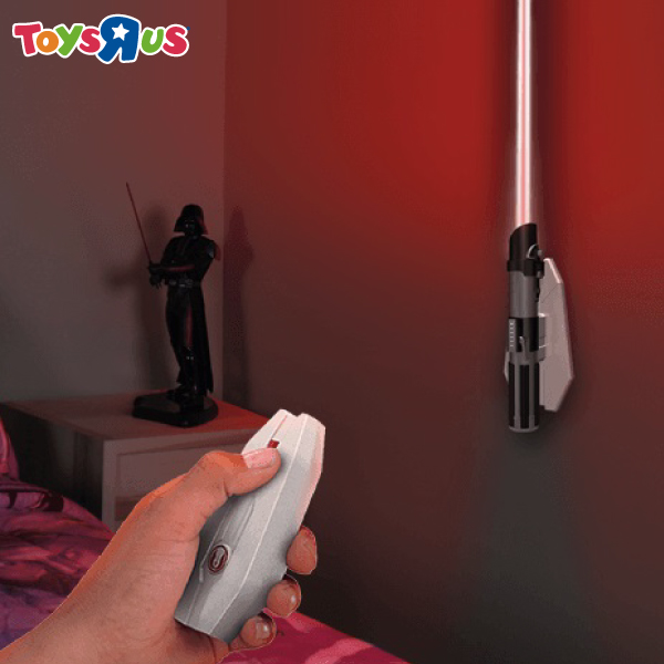 玩具反斗城 星際大戰 光劍造型遙控壁燈 達斯維達