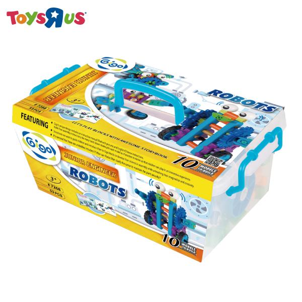 玩具反斗城 智高小小工程師系列-機器人羅比