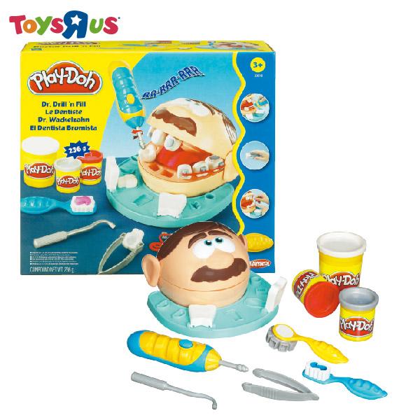 玩具反斗城 培樂多 新天才小牙醫黏土組