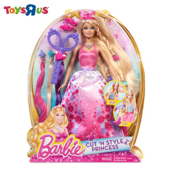 玩具反斗城 剪髮造型芭比