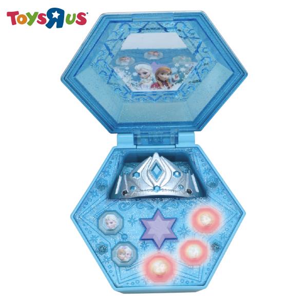 冰雪奇緣-冰之女王音樂戒指盒 玩具反斗城