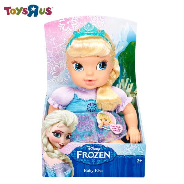 冰雪奇緣娃娃-Baby Elsa 玩具反斗城