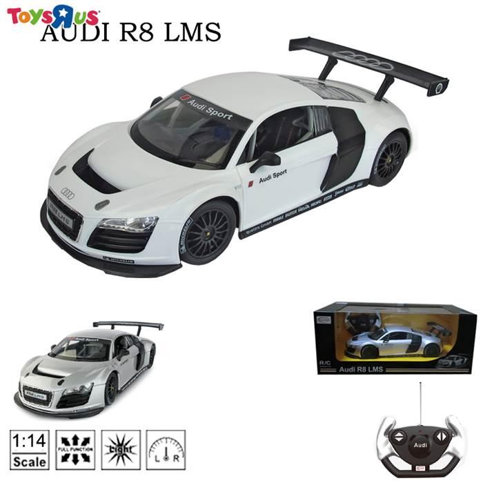 玩具反斗城 1:14 奧迪R8遙控車