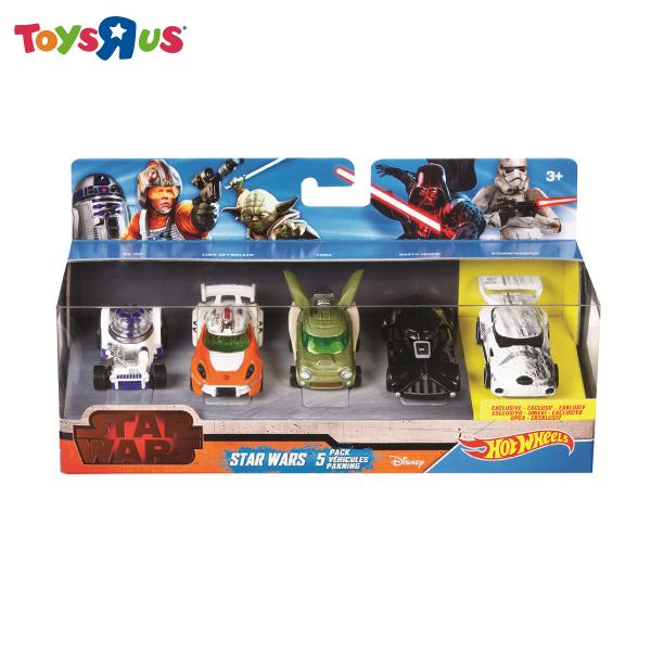 風火輪 星際大戰1:64合金小車5入裝 玩具反斗城