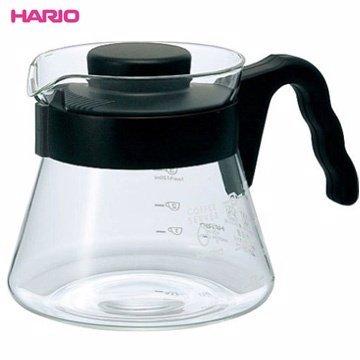【HARIO】VCS-01B 可微波耐熱咖啡壺 450ml 咖啡壺 茶壺 玻璃壺 熱水壺 刻度 波型把手
