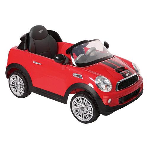 【淘氣寶寶】2016年 兒童電動車Mini CooperS 遙控電動車 紅色【型號W456EQ】【贈 KK12天然草本抗菌洗手乳250ml】