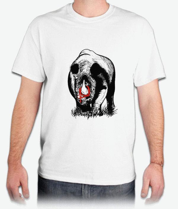 『犀牛角』HiCool機能性吸濕排汗圓領T恤