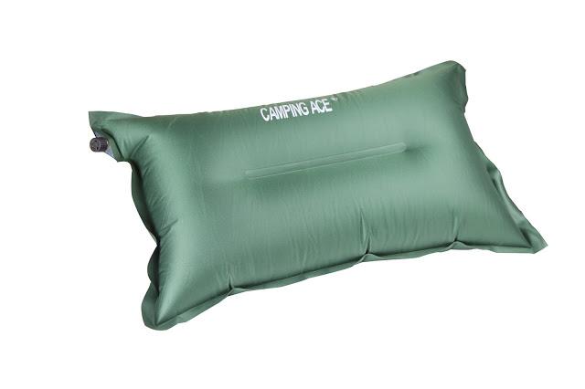 野樂 ARC-220R 超輕自動充氣枕頭 可調整枕頭高度 可當背部靠墊 充氣枕 枕頭