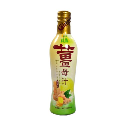 綠農。本土鮮榨薑母汁。300ml/罐 嚴選台灣本土食材竹薑