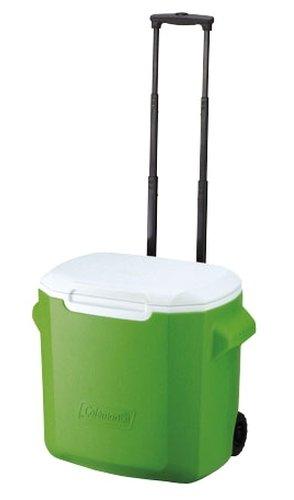 【鄉野情戶外專業】 Coleman |美國| 26L 拖輪冰桶/冰桶 保鮮桶 保冰箱-綠/CM-0029JM000