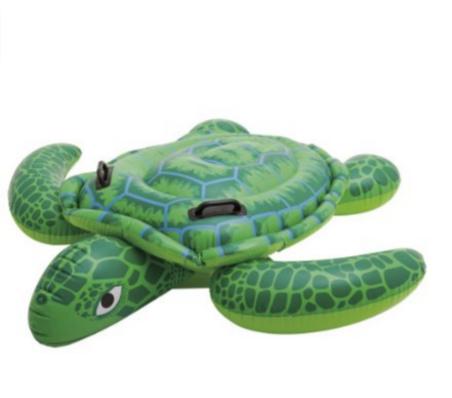 水上騎乘烏龜造型充氣浮板