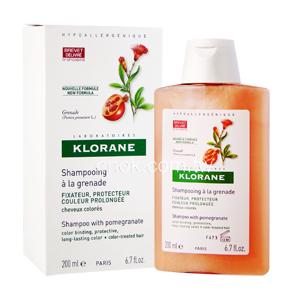 KLORANE蔻蘿蘭 護色亮澤洗髮精200ml(染燙髮質專用)