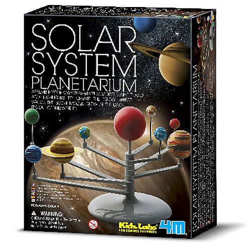 【4M 創意 DIY】Solar System 立體八大行星