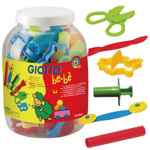【義大利 GIOTTO】寶寶黏土工具(校園組) 464700