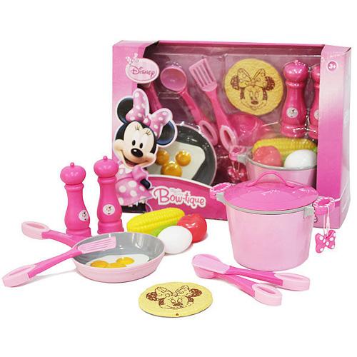 【Disney 品牌授權系列】米妮廚房玩具家家酒組 BL43687
