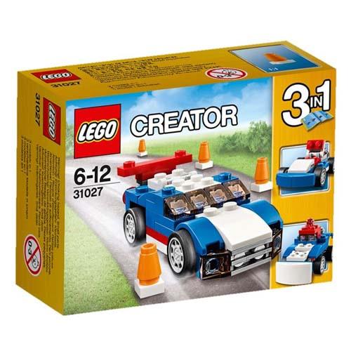 【LEGO樂高積木】Creator系列-藍色賽車 LT 31027