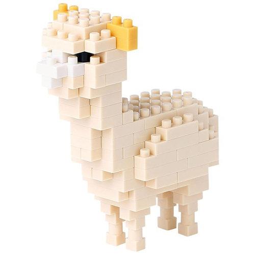 【Nanoblock 迷你積木】NBC-160 新版羊駝