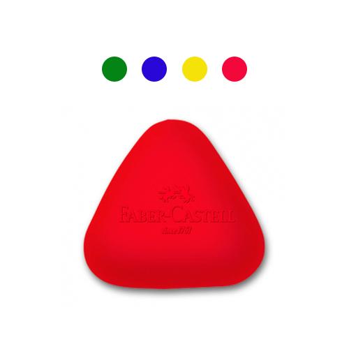 【Faber-Castell 輝柏繪畫系列】可愛貝貝橡皮擦-三角形(顏色隨機) 189024