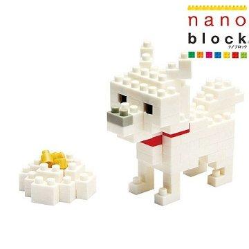 【Nanoblock - 可愛動物系列】北海道犬 NBC-005