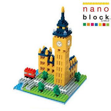 【Nanoblock - 世界主題建築系列】倫敦大笨鐘 NBH-029