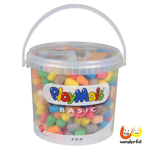 【Playmais玩玉米創藝黏土】玩玉米創意黏土隨身桶 BCPL0018