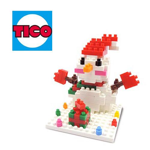 【Tico微型積木】雪人-2014 (9223)