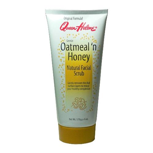 進口Queen Helene燕麥蜂蜜臉部去角質磨砂洗面乳170g