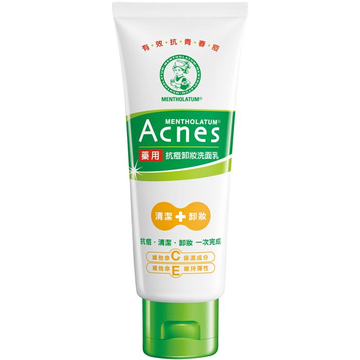 曼秀雷敦 Acnes 藥用抗痘卸妝洗面乳 100g