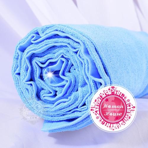 ◆居家必備.衛浴◆ 方格牌20兩毛巾被-藍色 [49876]◇美容美髮美甲新秘專業材料◇