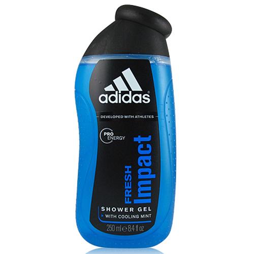 Adidas愛迪達男性沐浴精-250mL(沁涼酷勁) [52194]產地西班牙