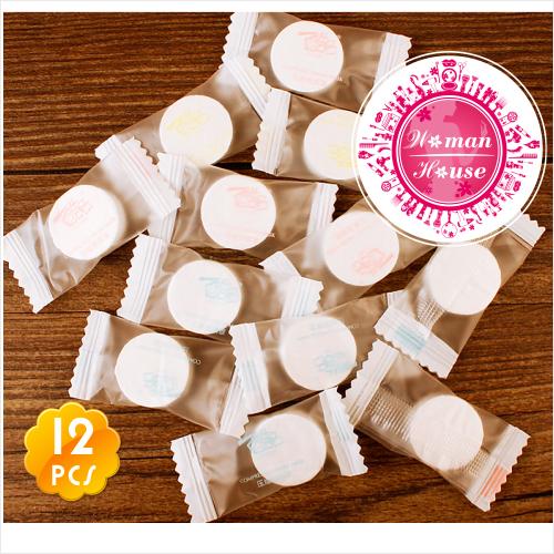 酷品C-058糖果造型!壓縮面膜.紙面膜錠(12入) [53081]