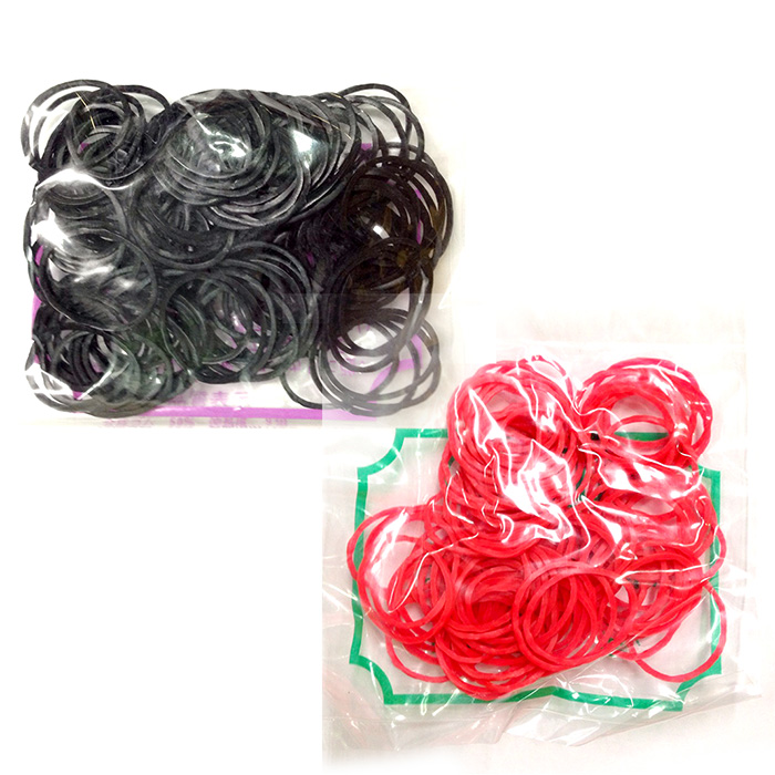 橡皮筋(小包裝) 黑大/黑小/紅大/紅小 [10003] ::WOMAN HOUSE:: 國家考試/乙丙級/教學練習