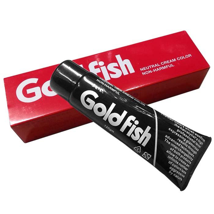 精美 Goldfish金魚護髮染髮劑 120g 504咖啡色 [26376] ::WOMAN HOUSE::