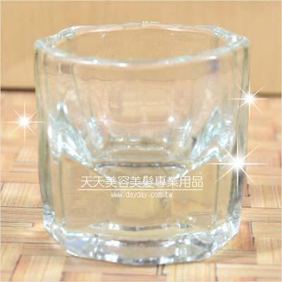 嘉奈兒水晶指甲光療凝膠卸甲洗筆專用八角形玻璃杯(小)一入 [94146]◇美容美髮美甲新秘專業材料◇