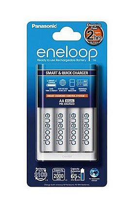 【普羅相機】Panasonic eneloop 快速充電組(低自放電3號電池 四顆+充電器)K-KJ16MCC40T