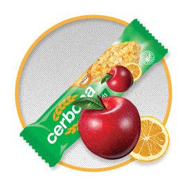 歐洲CERBONA低負擔纖果棒-蘋果口味x20條 甜馨營養中心