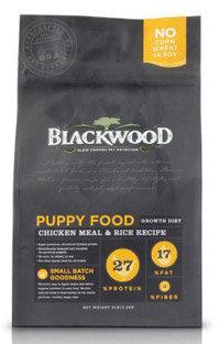 WDJ推薦 Blackwood 柏萊富天然寵糧 特調幼犬成長配方(雞肉+糙米) 1LB/1磅
