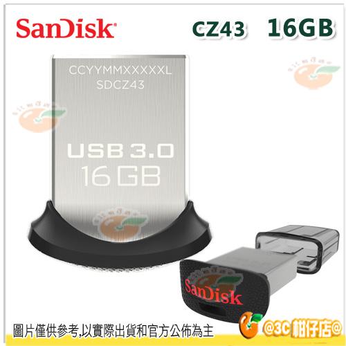 免運 Sandisk CZ43 16G 16GB Ultra USB 3.0 高速 隨身碟 130 MB/s 快閃碟 儲存碟 公司貨