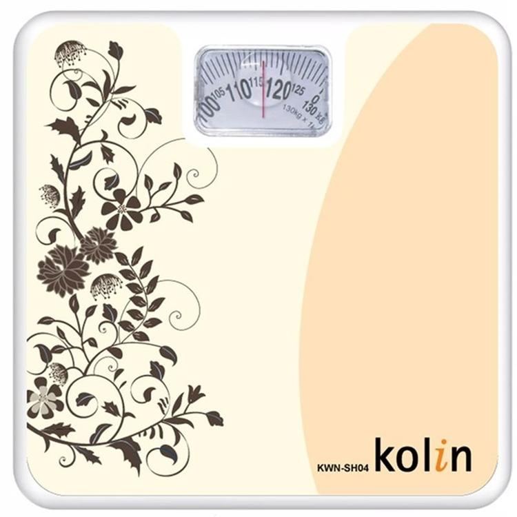 小玩子 歌林 kolin 時尚 電子式 體重計 典雅 復古 花草 簡約 KWN-SH04