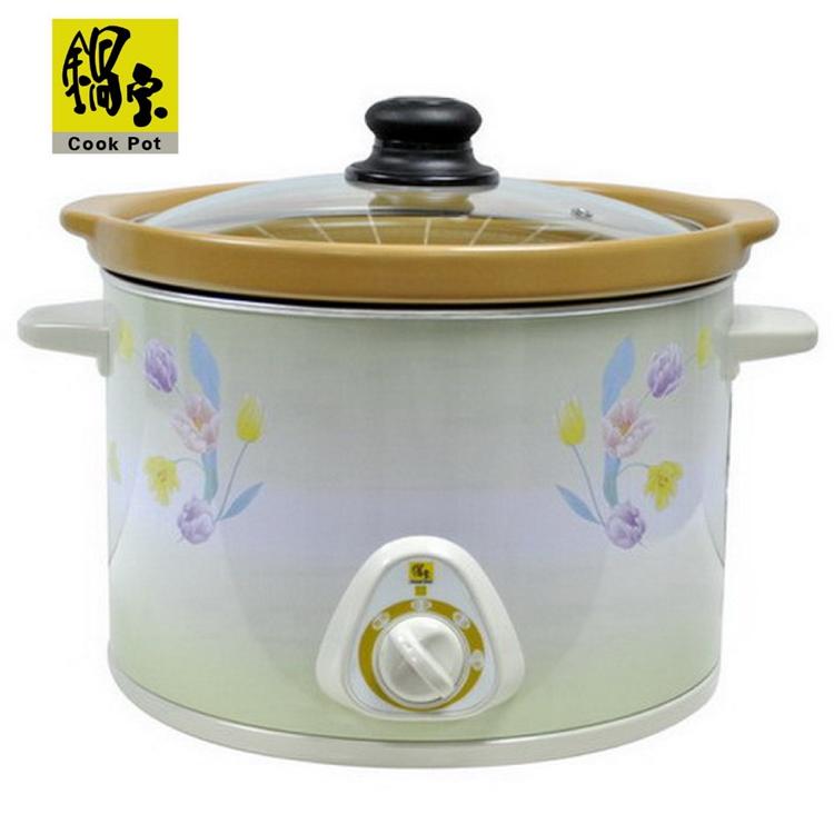 小玩子 鍋寶 5公升 陶瓷燉鍋 可拆式內鍋 餐廳 快煮 滷肉 煲湯 煮粥 溫馨發售 EK-5688