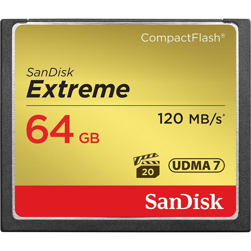 ◎相機專家◎ Sandisk Extreme 64GB CF 800X 120MB/s 64G 群光公司貨