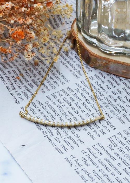 韓國飾品,珠珠項鍊,簡約造型項鍊,氣質項鍊