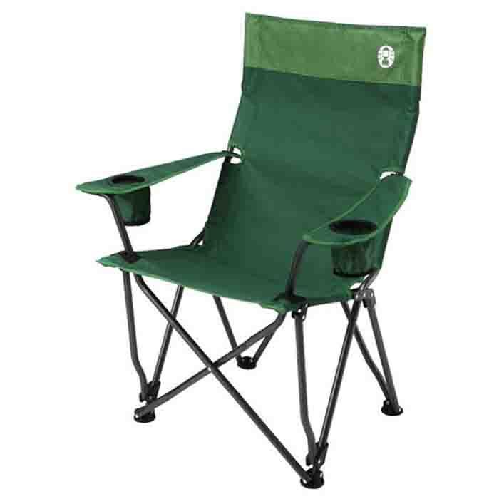 【鄉野情戶外專業】 Coleman |美國| 高背舒壓椅-綠 CM-0503JM000