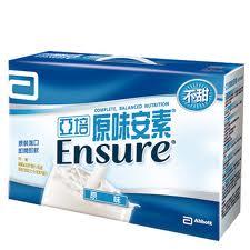 Abbott 亞培 ENSURE 原味安素禮盒 237ml x8入【瑞昌藥局】010867
