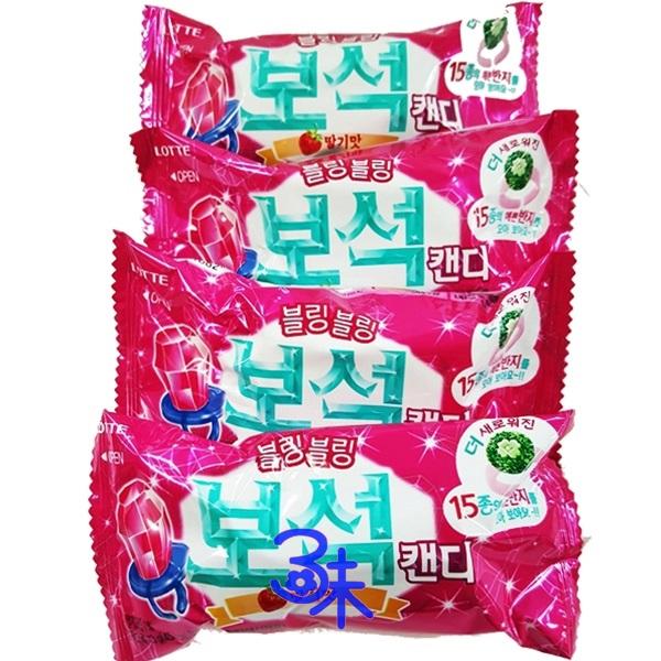 (韓國) 樂天BEAUTY寶石戒指糖果-草莓口味1盒 18入 (13公克*18包) 特價 432元 (平均1包24元) 【 8801062335701 】(鑽石戒指糖)