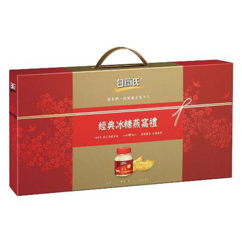 白蘭氏冰糖燕窩禮盒 70g*5瓶【合康連鎖藥局】