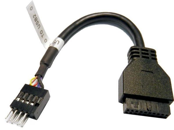 [NOVA成功3C]UB-362 USB2.0公轉3.0母主機板線 喔!看呢來