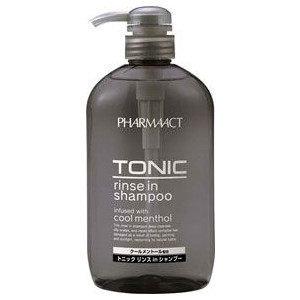 *新品上市*日本製*日本 TONIC 熊野油脂 涼性 去頭皮屑 雙效 洗髮精 -現貨