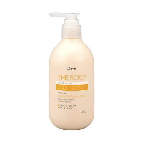 *新品上市*日本製*日本 熊野油脂 DEVE 橄欖油 玫瑰 280g 身體 護膚乳液-現貨