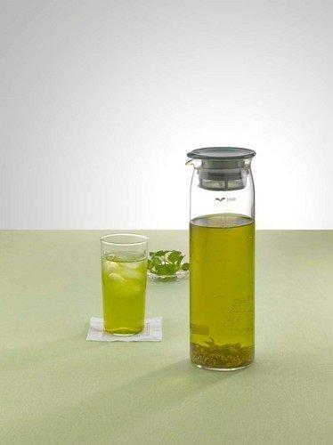 *新品上市*日本製*日本知名品牌 HARIO 1000ML 綠蓋 耐熱 玻璃 冷水壺-MD-10 -現貨 長刊期商品